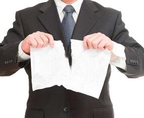 расторжение  агентского договора