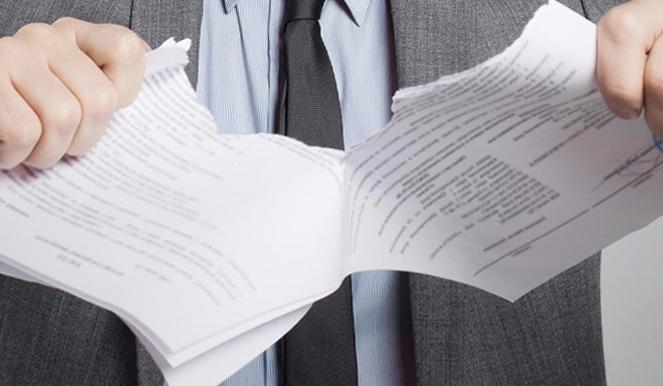 Бланк заявления о расторжении инвестиционного договора